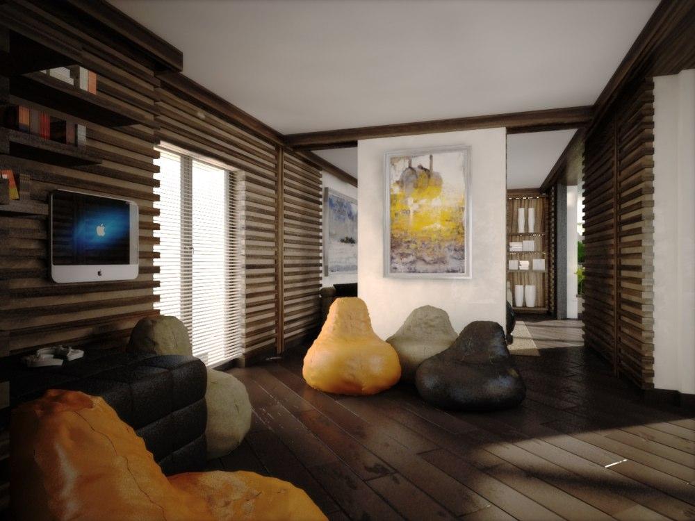 archimora - attico con piscina - esterno- 0000