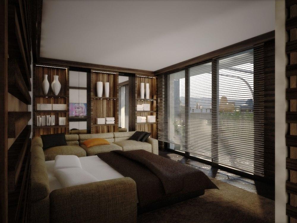 archimora - attico con piscina - esterno- 0003
