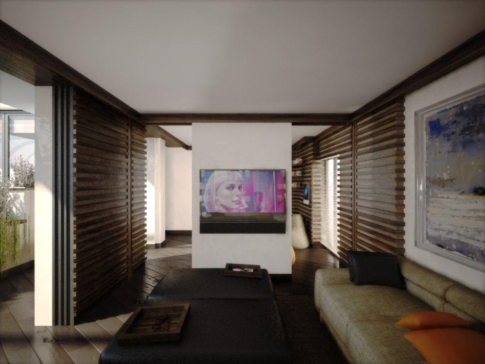 archimora - attico con piscina - esterno- 0008