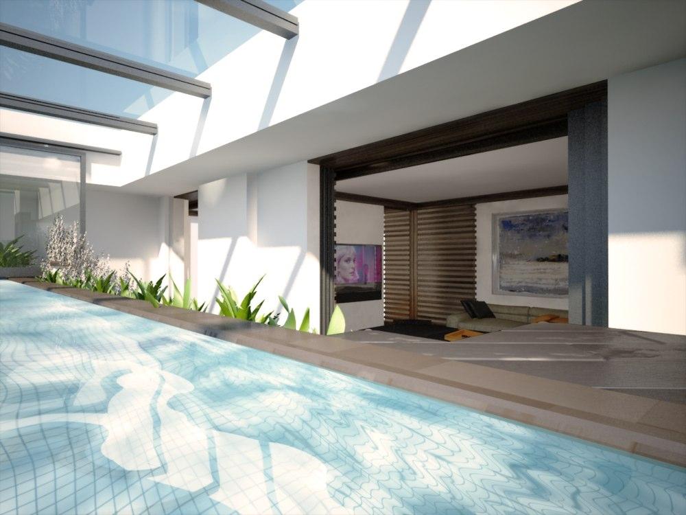 archimora - attico con piscina - esterno- 0012