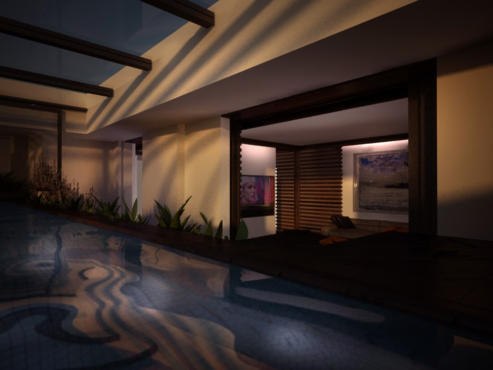 archimora - attico con piscina - esterno- 0012a