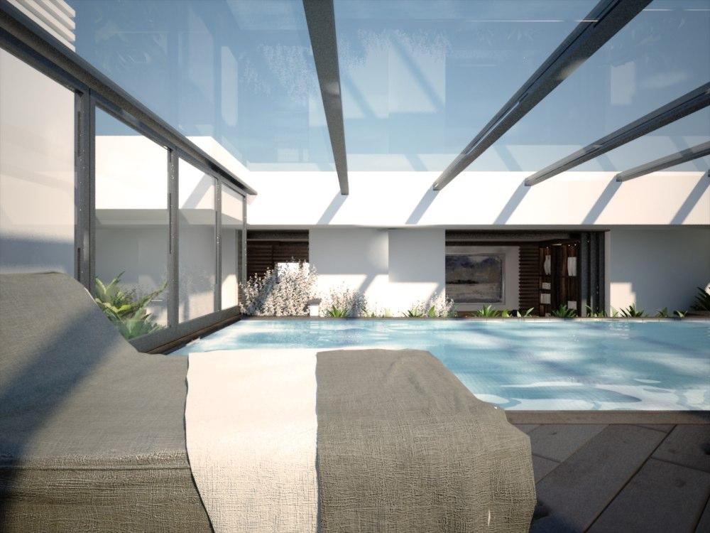 archimora - attico con piscina - esterno- 0014