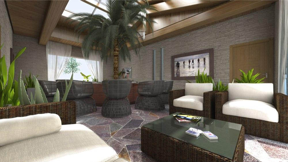 archimora - sobria elegante - giardino d inverno - 001
